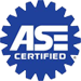 All our technicians are certified by the National Institute for Automotive Service Excellence (ASE Certified)