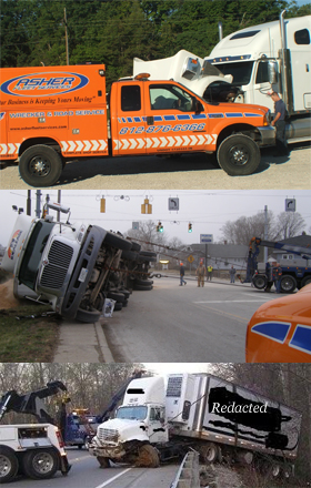 South Central Indiana IN Heavy Wrecker Services